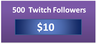 500 buy real twitch viewers