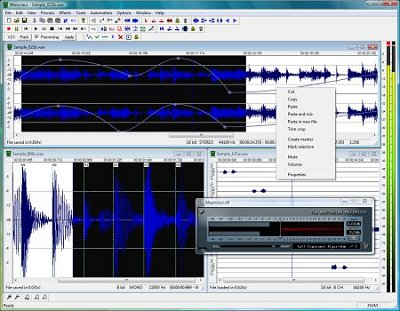 Software Pengedit Lagu Gratis  wavosaur