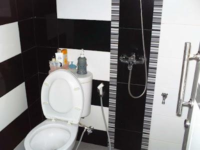 Desain Kamar Mandi Minimalis Ukuran 1X1 Dengan WC Duduk 3
