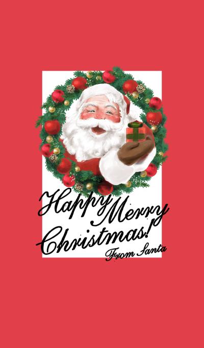 Happy Merry Christmas! From Santa