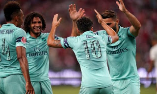 Arsenal vs PSG 5-1 Video Gol Highlights