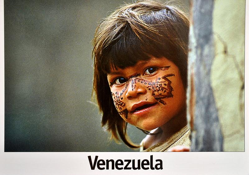 pocztówka z wenezuelii