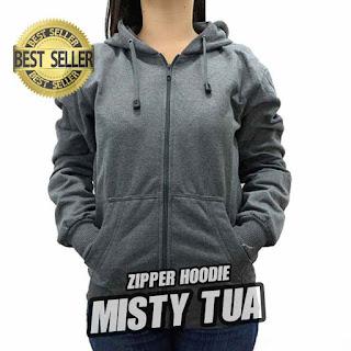 hoodie ZIPPER ABU MISTY TUA