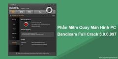 Phần Mềm Bandicam Full Crack 3.0.0.997