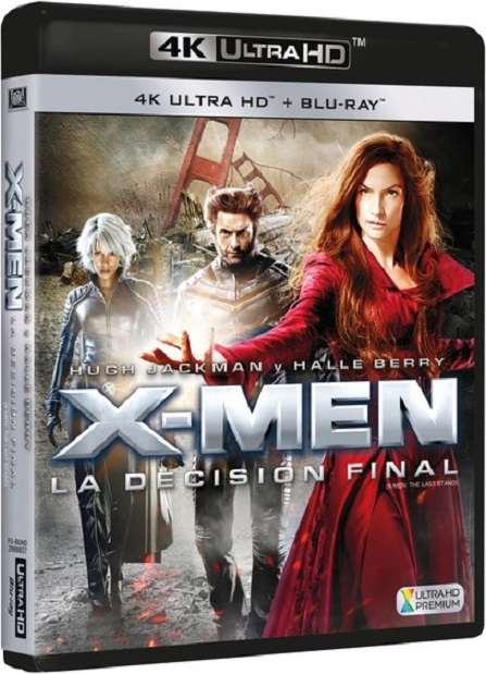 X-Men: The Last Stand 4K (X-Men 3: La Batalla Final 4K) (2006) 2160p 4K UltraHD HDR BluRay REMUX 48GB mkv Dual Audio DTS-HD 6.1 ch