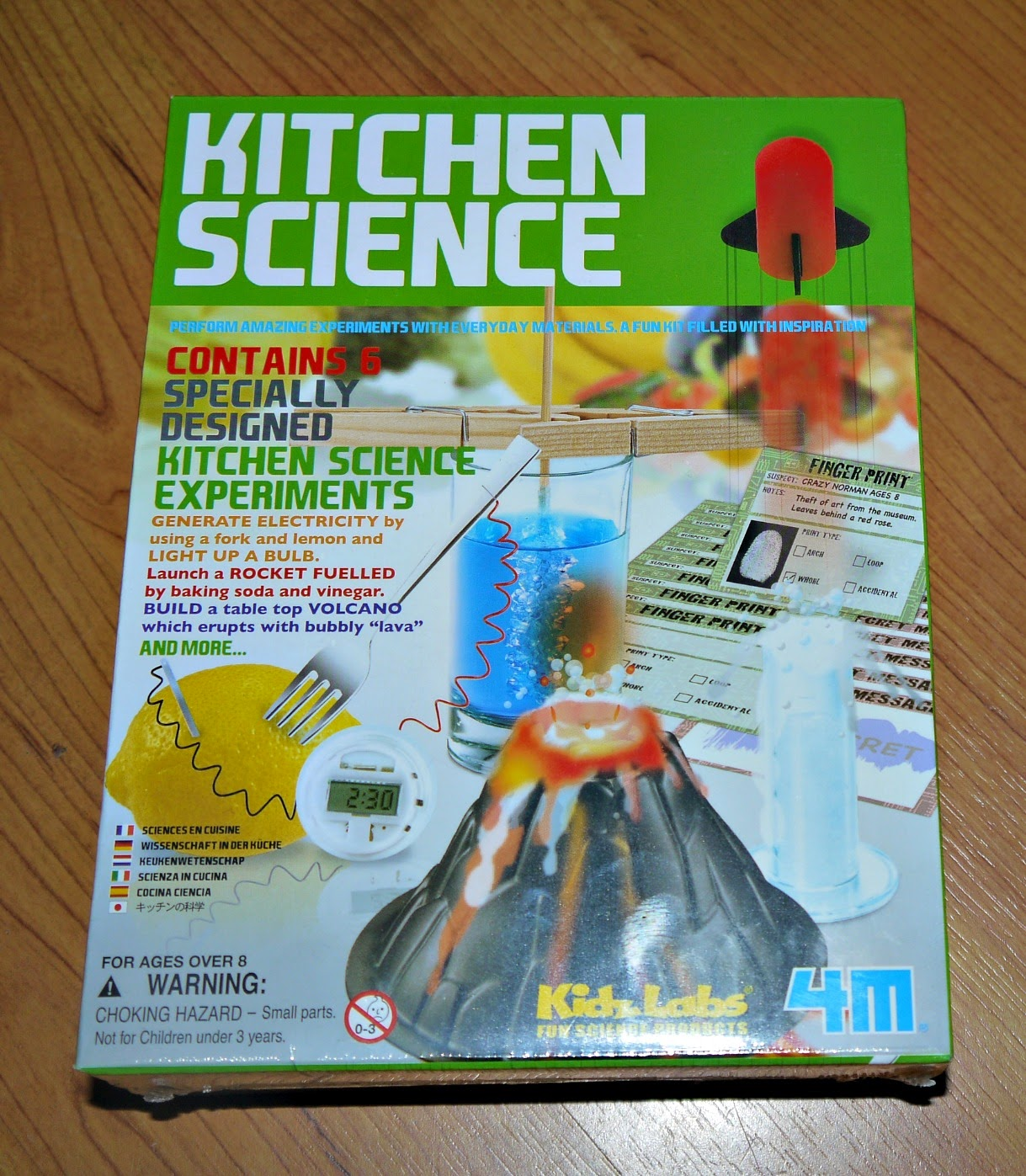 Kitchen Science: Inside The Wendy House: We Made A Volcano Using Kitchen