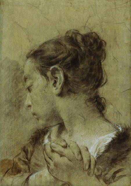 Girl in Contemplation