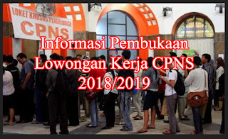 lowongan kerja cpns 2018 2019