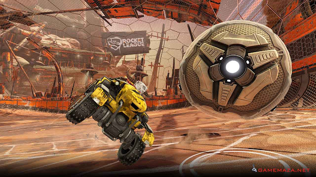 Rocket League Chaos Run Gameplay Screenshot 3