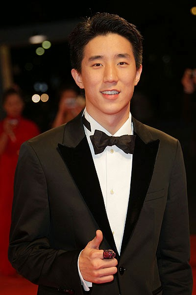 the son of a famous actor Jackie Chan - Jaycee Chan