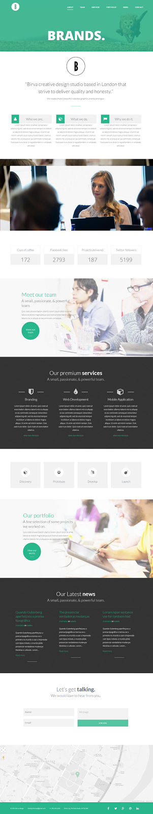 creative wp theme
