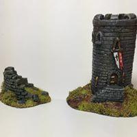 6mm scale fantasy buildings