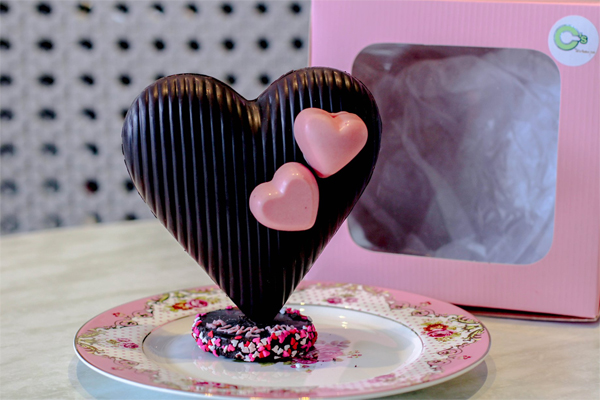 C's Cafe - Bacolod restaurants - Valentine promo - chocolate hearts