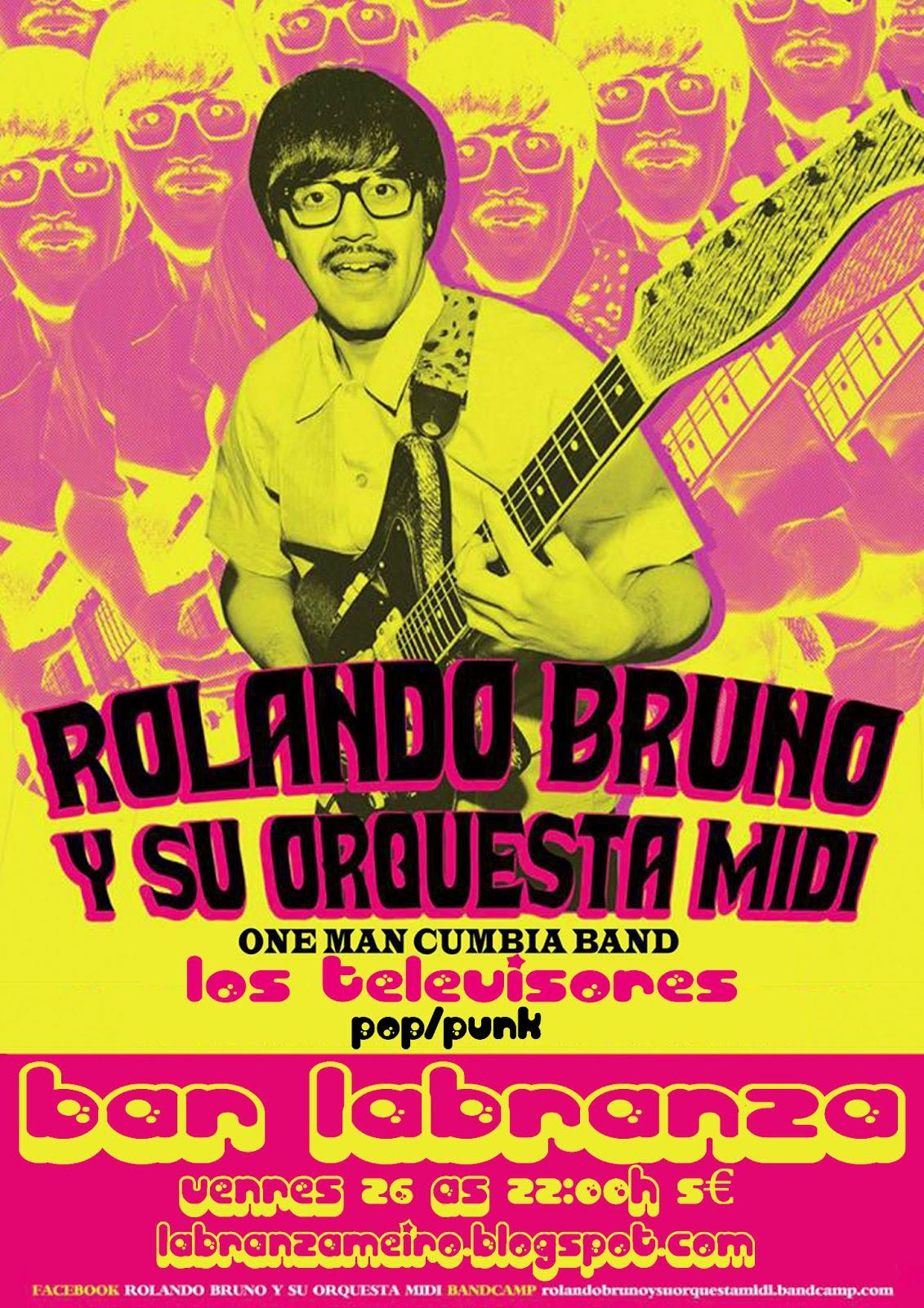 labranza: ROLANDO BRUNO Y SU ORQUESTA MIDI (cumbia chica) +