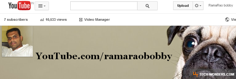 RamaRao bobby YouTube Channel - www.youtube.com/ramaraobobby