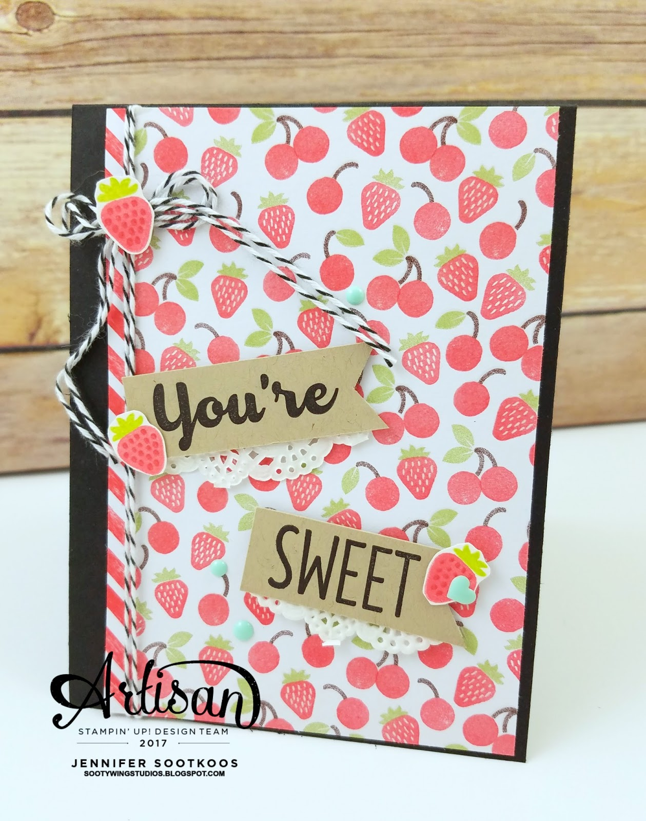 Sootywing Studios Sweet and Cool Birthday Cards Stampin Up