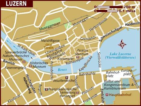 Cartina 5d.Lucerne World Travel Guides