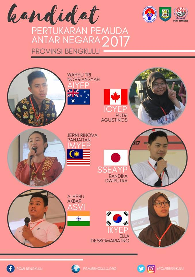 Selamat kepada Kandidat Peserta PPAN 2017 Provinsi Bengkulu