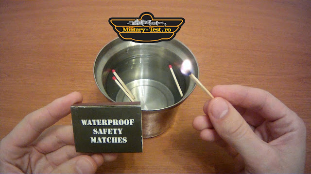 waterproof saftey matches