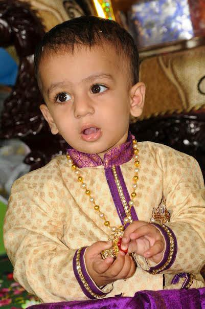 Indian Baby Boy First Birthday Dress And Jewelelry Designs