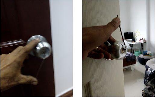 Dịch vụ mở cửa làm chìa khóa tay nắm tròn giá rẻ