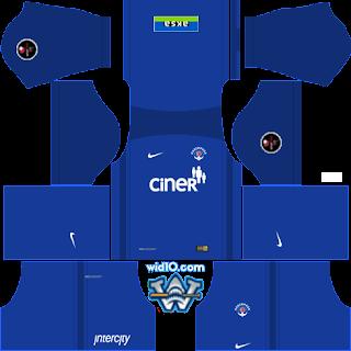 Kasımpaşa 2018 - 2019 DLS/FTS Dream League Soccer Forma Kits ve Logo