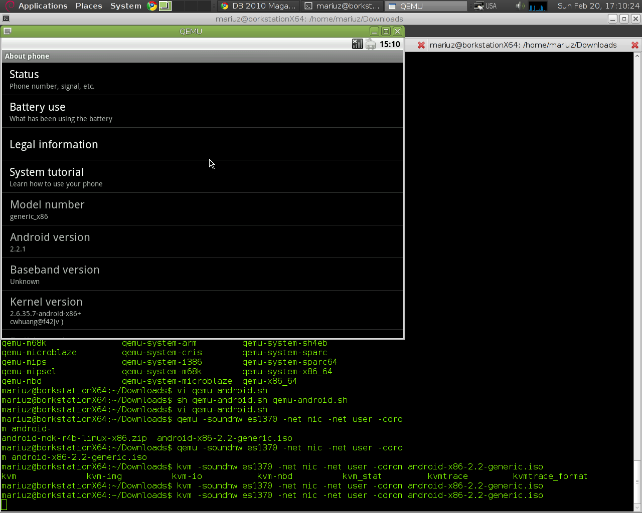 Mariuz's Blog: testing android-x86 with kvm-linux