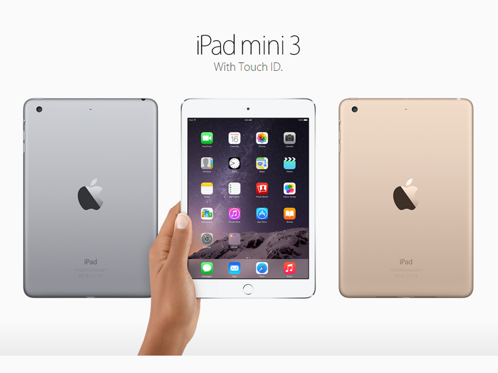 Apple Announces iPad Mini 3