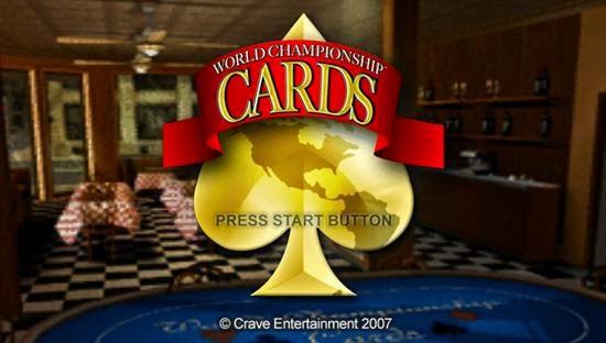 World Championship Cards PSP Game Screenshot Pitcure World Championship Cards PSP ISO