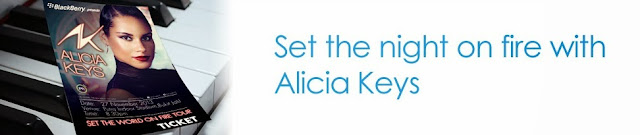 Together with Celcom First, get ready to set the night on fire with Alicia Keys