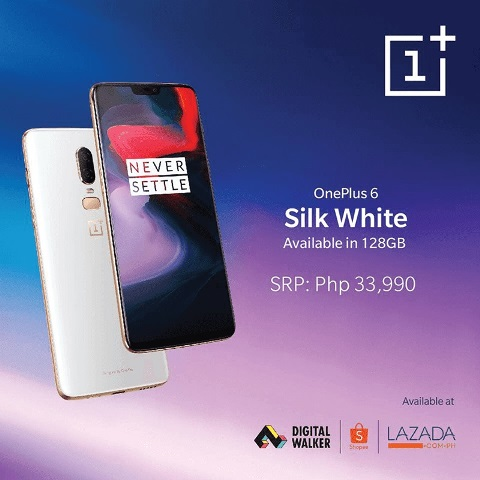 OnePlus 6 Silk White Now Available in PH!