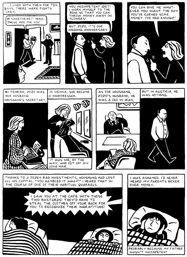 Read Chapter 1 - The Soup, page 3, from Marjane Satrapi's Persepolis 2 - The Story of a Return