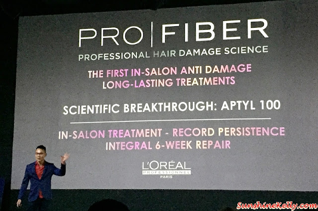 L'Oreal Professionnel, Pro Fiber, Rectify, Restore, Reconstructs, Initiated in Salon, Reactivated at Home, hair damage control