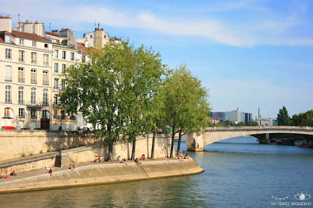 My Travel Background : #ParisPromenade : l'île de la Cité
