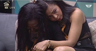 #BBA - DEBBYRISE BURSTS INTO TEARS AS BASSEY GETS EVICTED