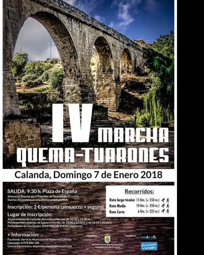 IV Marcha Quematurrones 2018