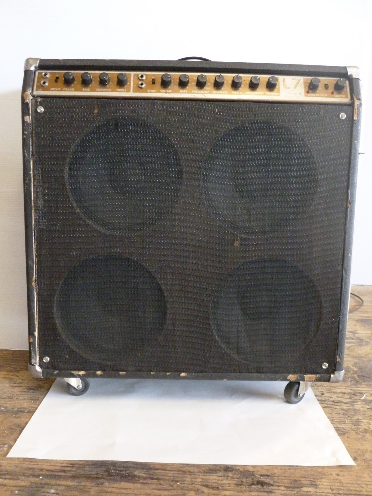 lab series amp for sale vintage lab series l7 100 watt 4 x 10 combo amp for sale. Black Bedroom Furniture Sets. Home Design Ideas