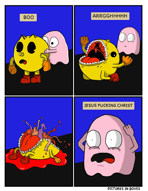 pac man comic