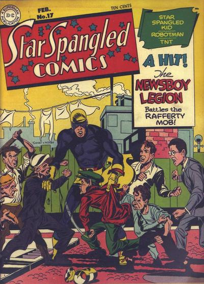 Jack Kirby Star Spangled Comics