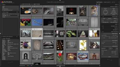 Darktable Software Over View