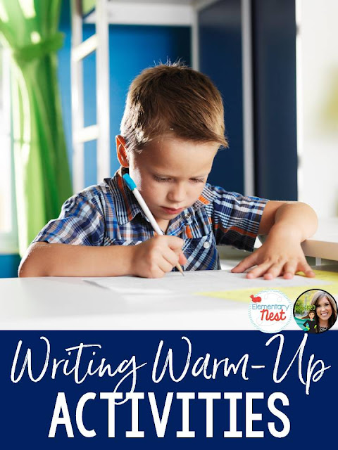 Warming Your Kids Up for Writing Block