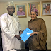Photogist: Minister Of Environment, Amina Mohammed Officially Hands Over To Usman Jibril