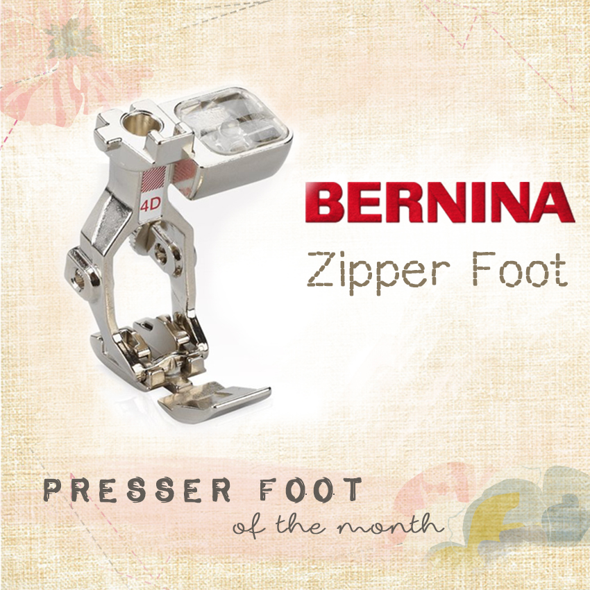 bernina foot of the month