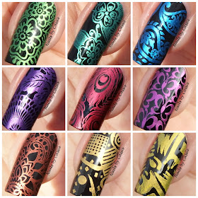 Nails By Cassis Hit The Bottle Stamping Polish Review Pic Heavy