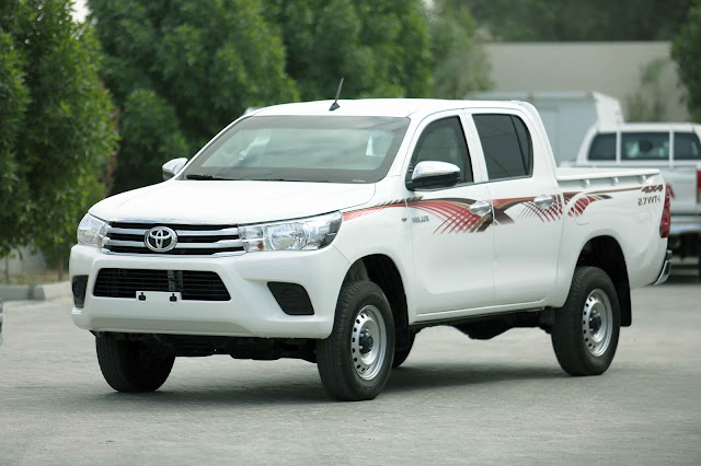 Armored Hilux Pickup