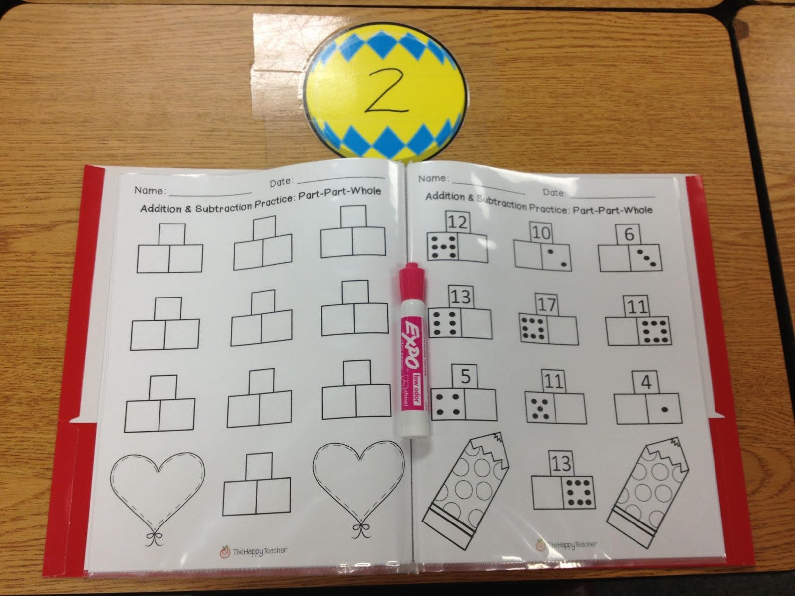 Addition Amp Subtraction Printables Part Part Whole