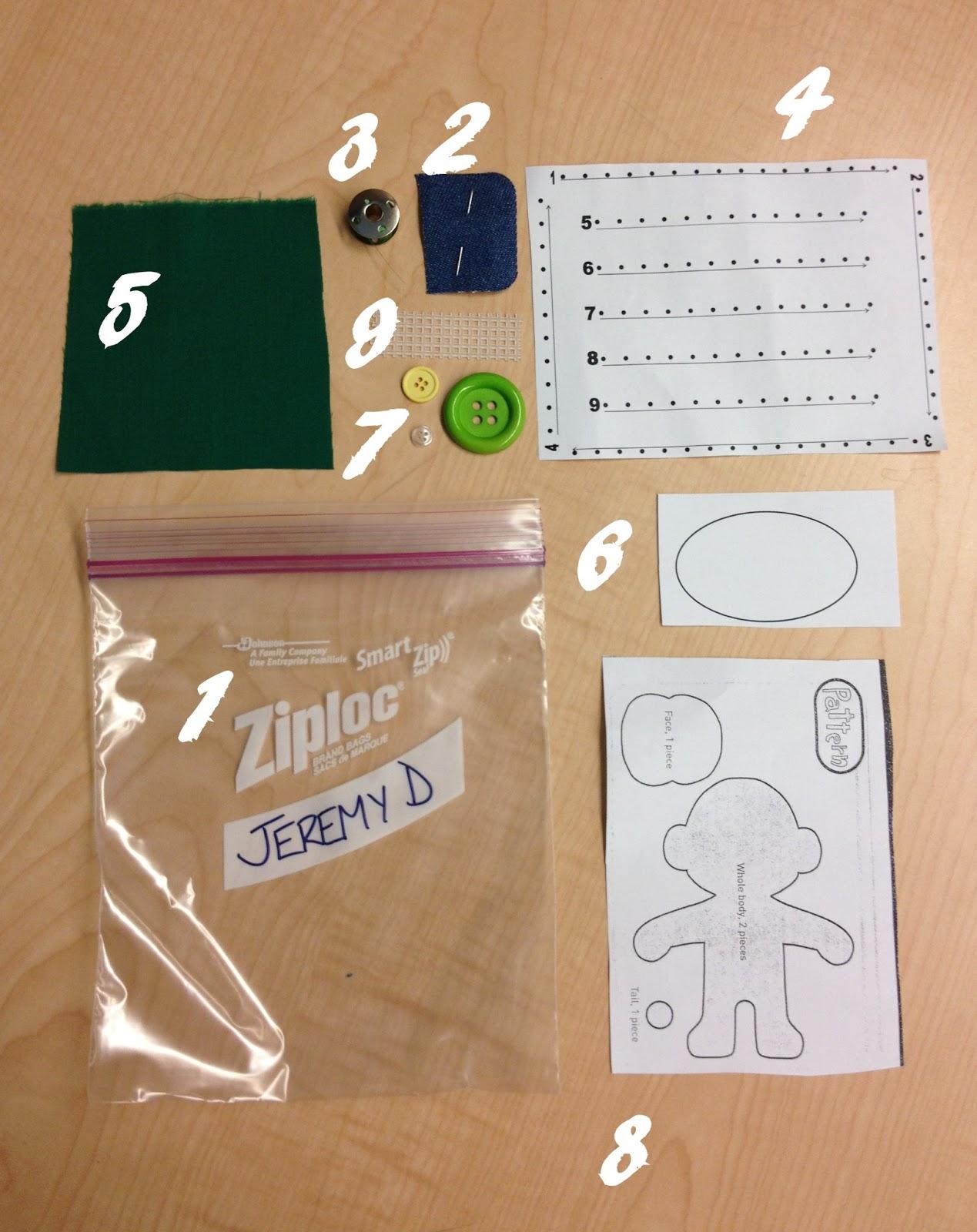 Facs Classroom Ideas Sewing Rules Supplies Amp Starter Bags