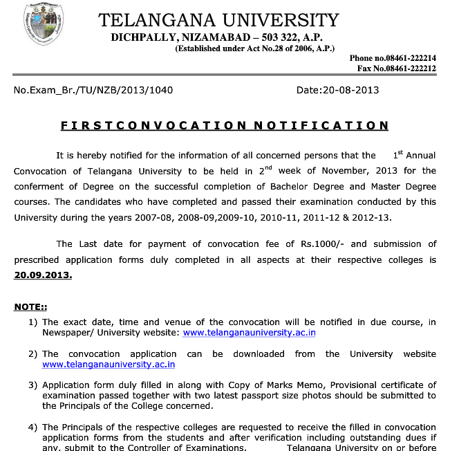 Degree marks memo download free