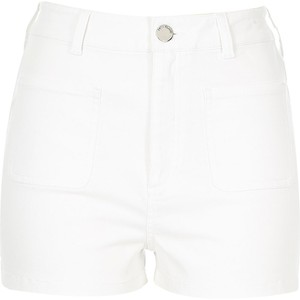 White high waisted shorts, $40 from River Island