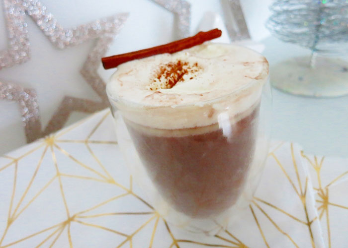 Truffle Hot Chocolate mit Cointreau